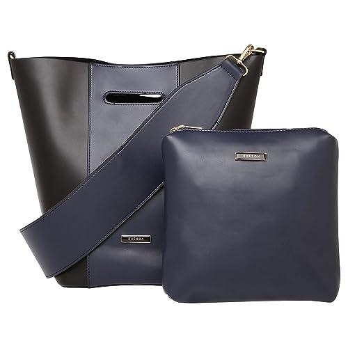 Rheson Women s Tote Bag (Black)  Amazon.in  Shoes   Handbags 815342e542ed4