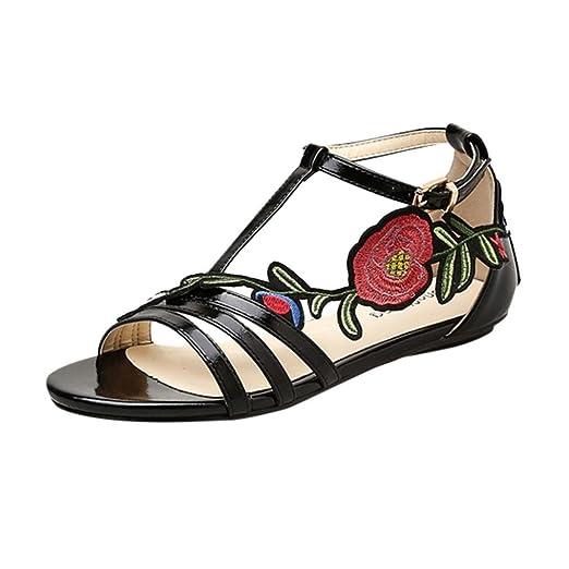 59f8ca471732 DENER Women Ladies Girls Summer Flat Sandals Slippers
