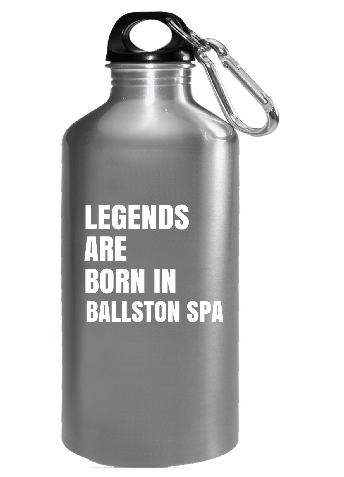 Legends Are Born In Ballston Spa Cool Gift - Water Bottle