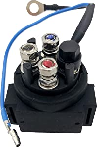 spartshome Power Trim Tilt Relay Replacement for 38410-94552 Fit for Yamaha 115-200 HP 91-04 for Suzuki 35-150hp 88-01 Outboards Replace 38410-94551 38410-94550