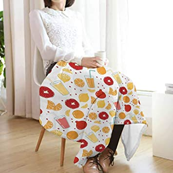 Amazon.com: Vanfan-home - Mantas modernas, frutas, granada ...