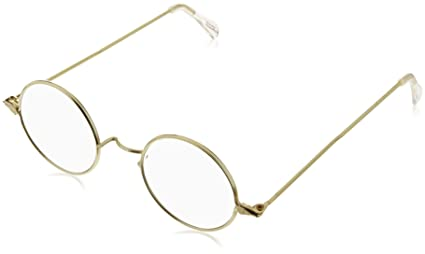 3187a752739 Image Unavailable. Image not available for. Color  Forum Novelties Round  Wire Rim Glasses Costume Accessory