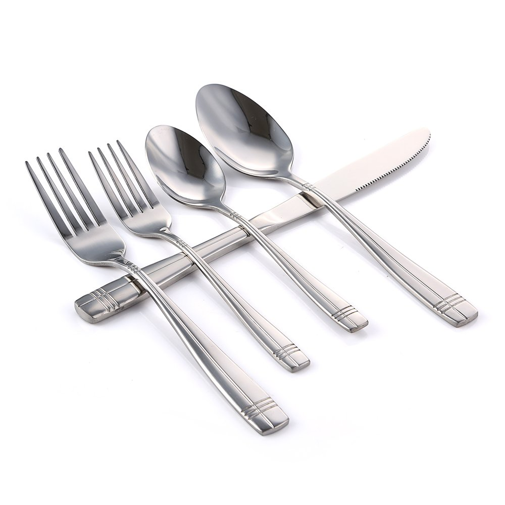 Eslite 40-Piece,Stainless Steel Flatware Sets,Service for 8(2204)