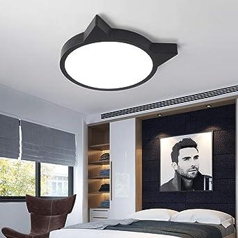 Moderno minimalista LED luz de techo lámpara de sala de ...