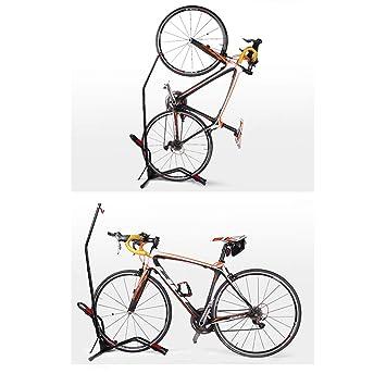Bike stand bicicletas soporte de almacenamiento interior, ajustable, espacio para guardar el ciclismo rack, liberando espacio de garaje de la bodega