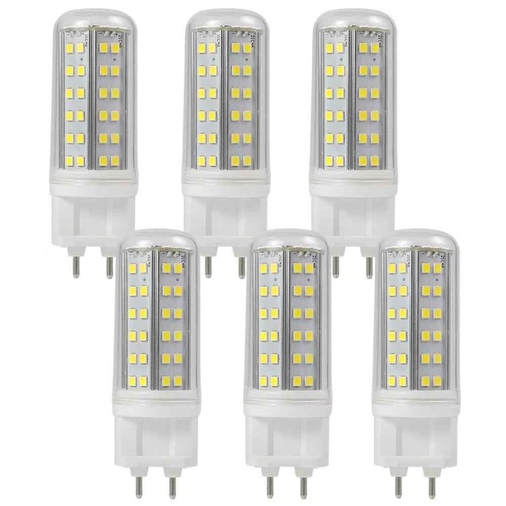 GRANVOO 6 Piezas G12 Lámpara LED 8W Bombilla Equivalente a 60W Blanco frío 6000K 1000 lúmenes AC 85-265V 84x 2835 SMD: Amazon.es: Iluminación