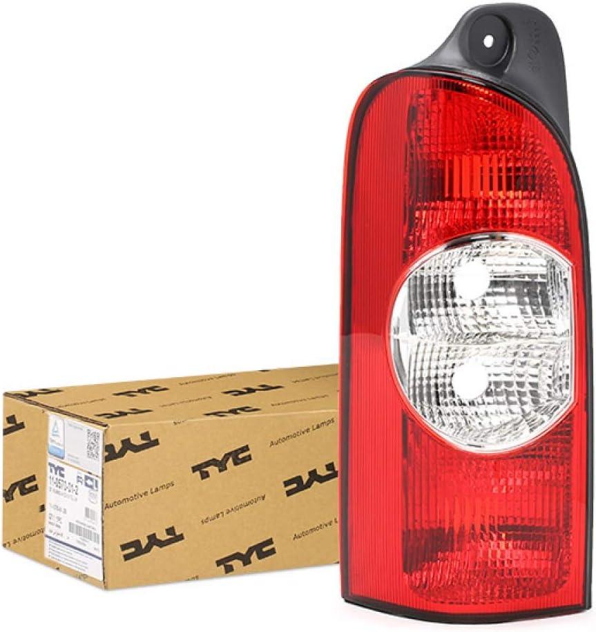 DAPA GmbH /& Co KG 110570012 R/ückleuchte ohne Birnenhalter Links