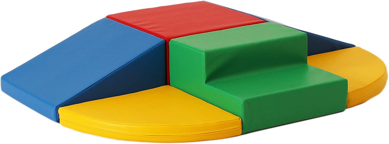 IGLU 6 XL Bloques de Espuma Figuras de Construcción Juguete para Aprendizaje Creativo Infantil Conjunto de Cubos Multicolores