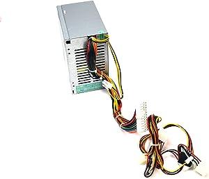 Aquamoon Trading New U4714 Genuine OEM Dell Optiplex GX280 Mainstream Power Supply 250W Power Factor Correction PFC Dual Serial ATA MT Tower Power Source P2507FWP ATX W4827