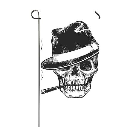 Amazon.com: Paux Gangster Skull - Tatuaje para jardín ...