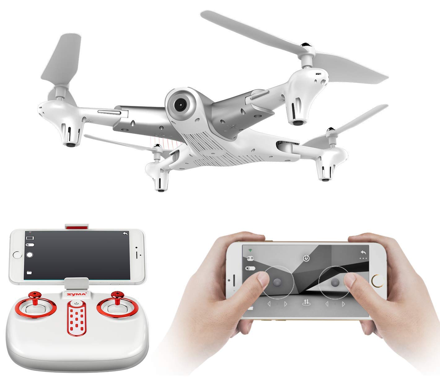 SUPER TOY Wi-Fi Camera Pocket Foldable Drone 2.4GHz Professional RC Quadcopter
