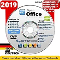 Open Office PREMIUM für WINDOWS 10 Windows 8 und 7-XP-Vista PLUS BONUS ORIGINAL von STILTEC