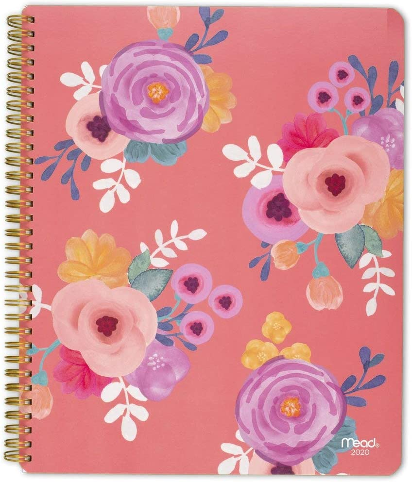 """New Large Artisan Spot UV .. Mead 2020 Weekly /& Monthly Planner 8-1//2/"""" x 11/"""""""