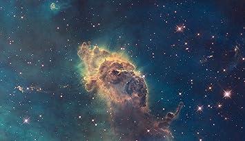 Amazon hubble teleskop poster foto star forming gas säulen