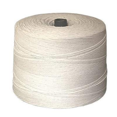 T.W Evans Cordage 07-040 4 Poly Cotton Twine 2.5-Pound Cone, 12000-Feet: Home Improvement