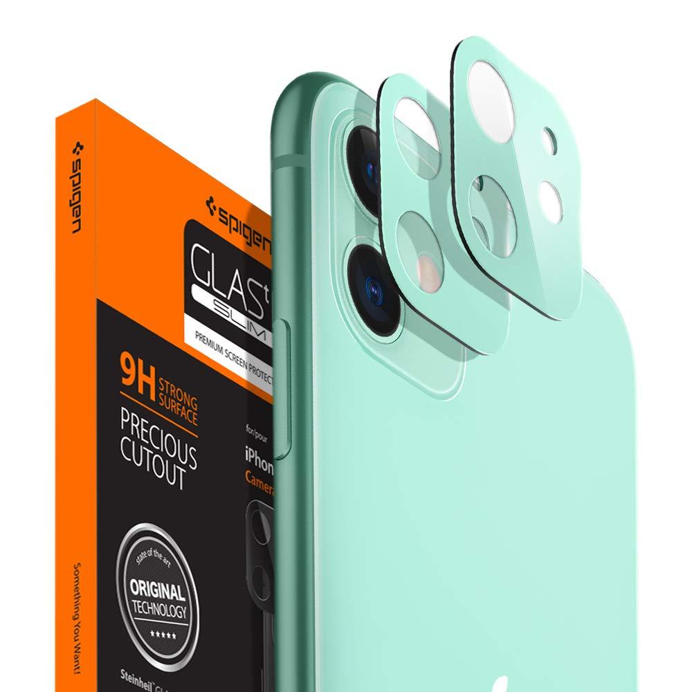 Protector De Lente/camara Para iPhone 11 Spigen, Verde