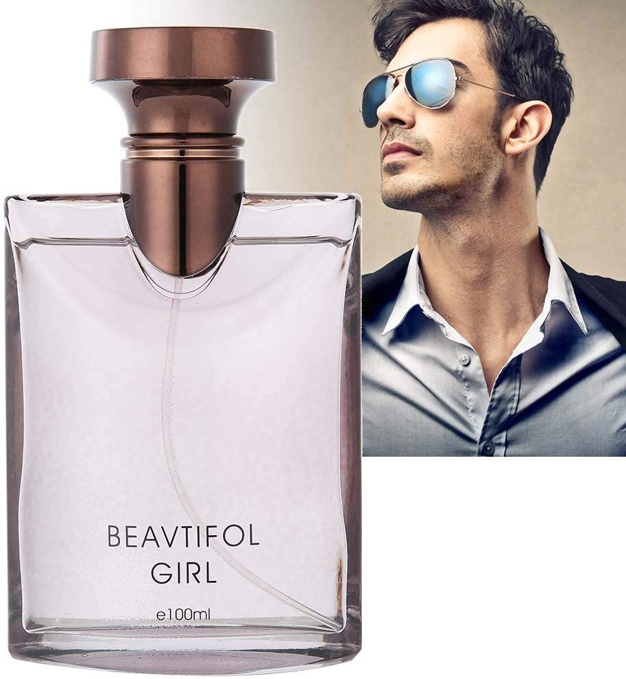 100 ML Perfume de Colonia para Hombres, Caballero Maduro y Fragancia Duradera(01)