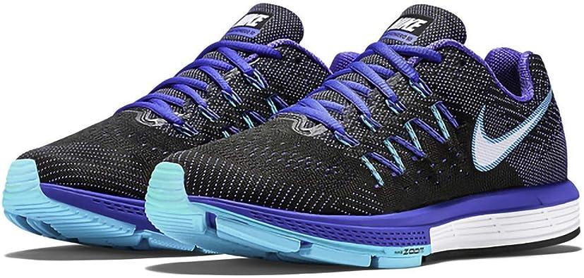 Nike Wmns Air Zoom Vomero 10 - Zapatillas para mujer, Negro (schwarz / violett), 38.5: Amazon.es: Zapatos y complementos