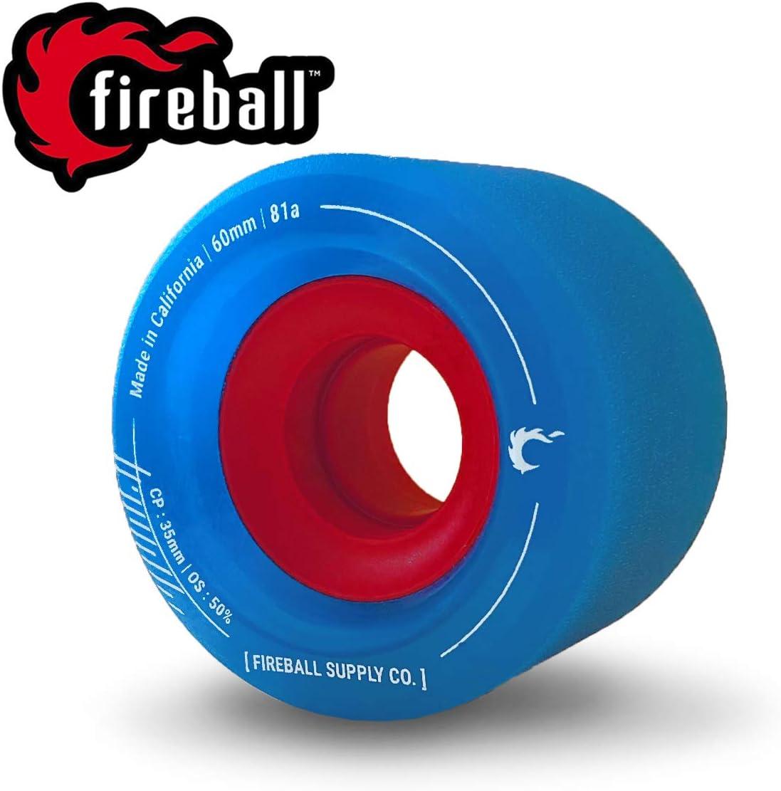 Fireball Tinder Longboard Wheels
