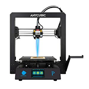 ANYCUBIC Mega Pro 3D Printer, 3D Printing & Laser Engraving 2 in 1 Filament 3D Printer with Smart Auxiliary Leveling,210×210×205mm (Print Size)& 220×140mm(Engraving Size)