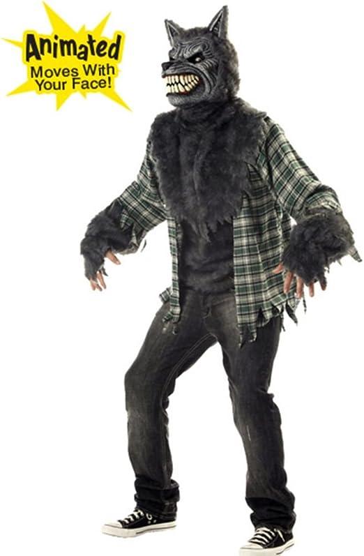 Aptafêtes – cs968916/M – Disfraz de Hombre Lobo – Talla M: Amazon ...
