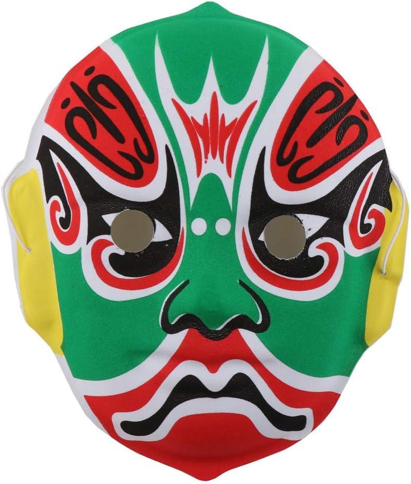 Estilo Aleatorio Amosfun 3 Piezas m/áscara de /ópera China m/áscara de Fiesta para ni/ños m/áscara de Halloween para ni/ños Disfraz de Halloween Cosplay decoraci/ón