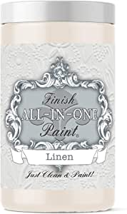 Linen (Off White), Finish All-in-One Paint 32oz Quart