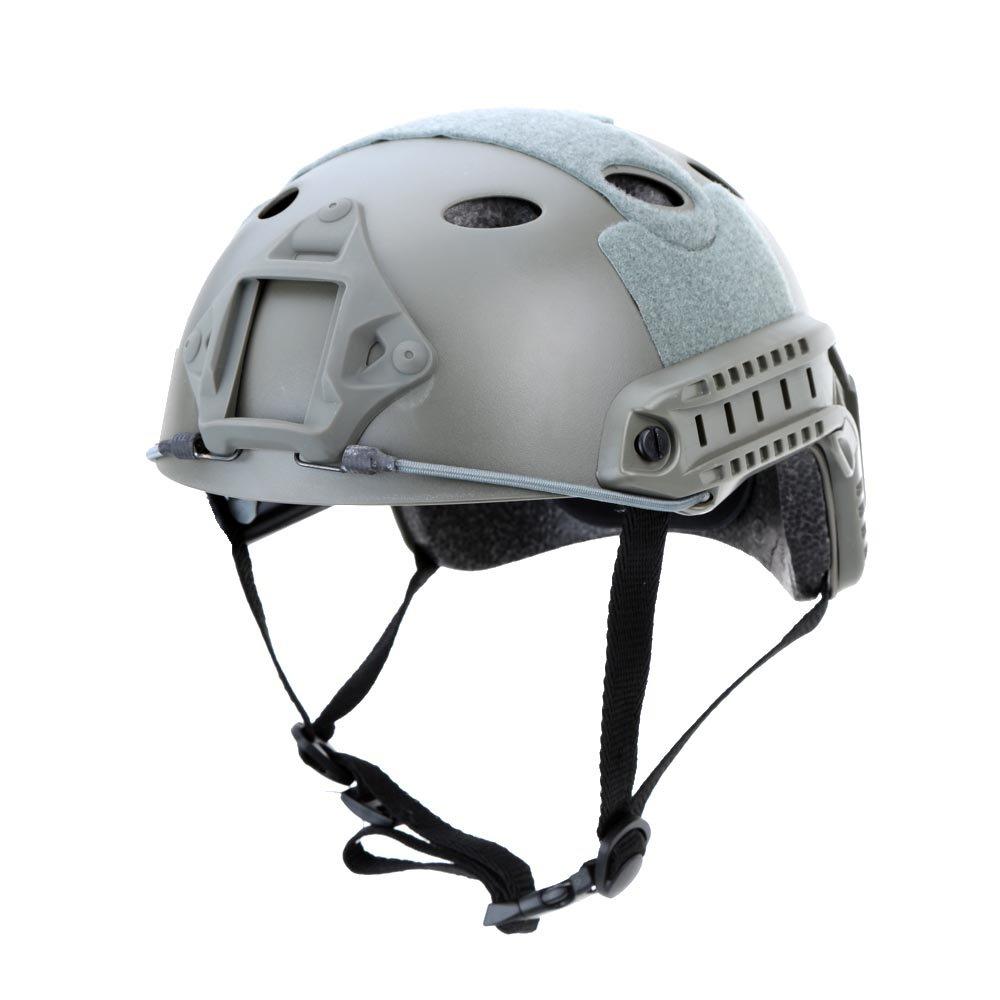 Hubry (TM) 3 Colors Outdoor Helmet Military Tactical Helmet Outdoor CS Airsoft Paintball Base Jump Protective Helmet