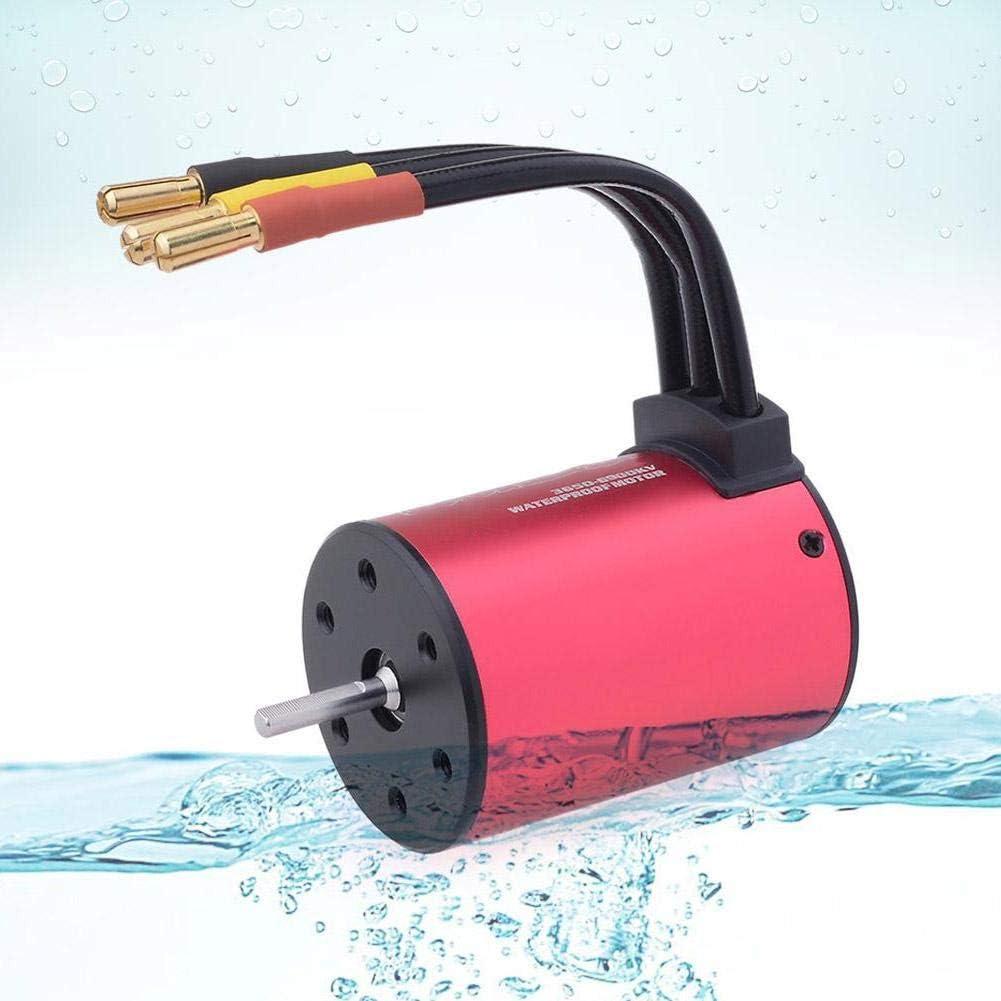 4500KV 3 Types RC Waterproof Brushless Motor for 1//16 1//18 Brushless Vehicles