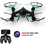 KingPow RC Drone 2.4GHz FPV VR WiFi RC Quadcopter 6-Axis Gyro Remote Control Drone 2MP HD Camera