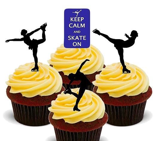 Obleas decorativas comestibles para cupcakes con diseño de ...