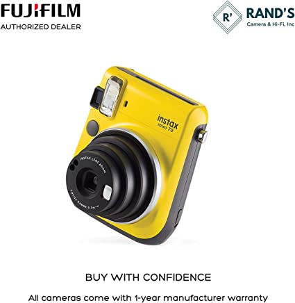 Rand's Camera Instax Mini 70 - Yellow product image 6