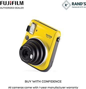 Rand's Camera Instax Mini 70 - Yellow product image 11