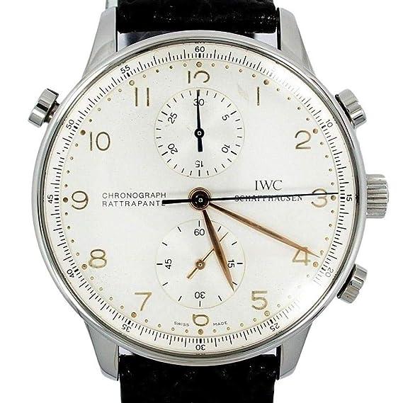 IWC IW371202 - Reloj mecánico de Mano para Hombre (Certificado de autenticidad)