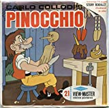 PINOCCHIO ,Carlo Collodi - Classic ViewMaster Reels 3D - unsold store Stock- Never Opened