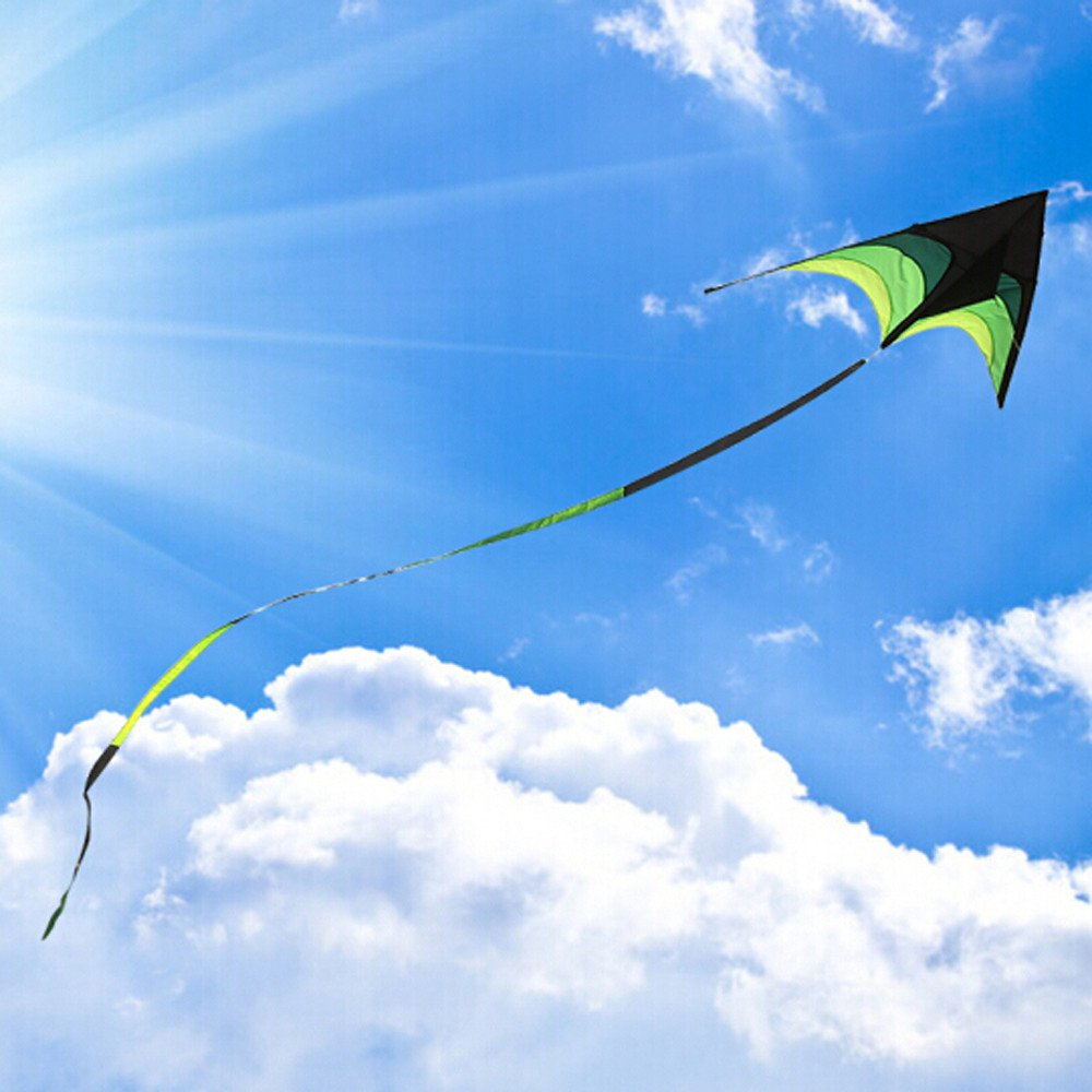 Cometa para niños de FILOL Kite-Beautiful Large Easy Flyer para ...