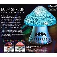 SoundCandy SC3006BLB-BT Bluetooth Boom Shroom Speaker, Blue