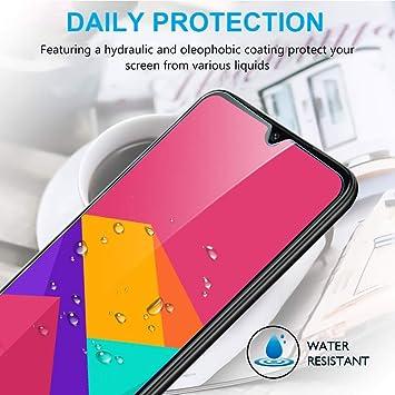 IRROT Protector de Pantalla para Xiaomi Redmi 7, Cristal Templado para Xiaomi Redmi 7, Alta Definicion, Sin Burbujas, 9H Dureza, Anti-Arañazos