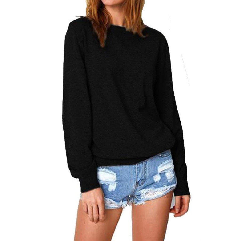 fe1e1d9cce4 Cotton Blend※Women 3 4 sleeve Swing Tunic Tops Plus size T Shirt Women s  Cotton Knitted Long Sleeve Lightweight Tunic Sweatshirt Tops Women s Sexy  Long ...