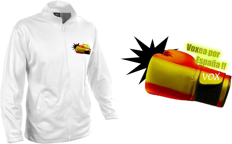 MERCHANDMANIA Chaqueta Tecnica 1 Dibujo VOXEA por ESPAÑA Jacket: Amazon.es: Ropa y accesorios