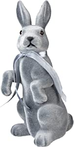 Primitives by Kathy Standing Bunny Figurine, Gray