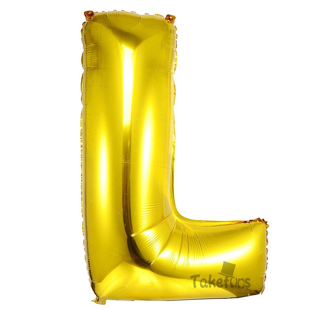 N/úmero 7 Takefuns Globos de la Letra del N/úmero Gigante DE 40 Pulgadas Globo de Mylar de la Hoja de Helio para Las Decoraciones de la Fiesta de Cumplea/ños de la Boda Plata Brillante