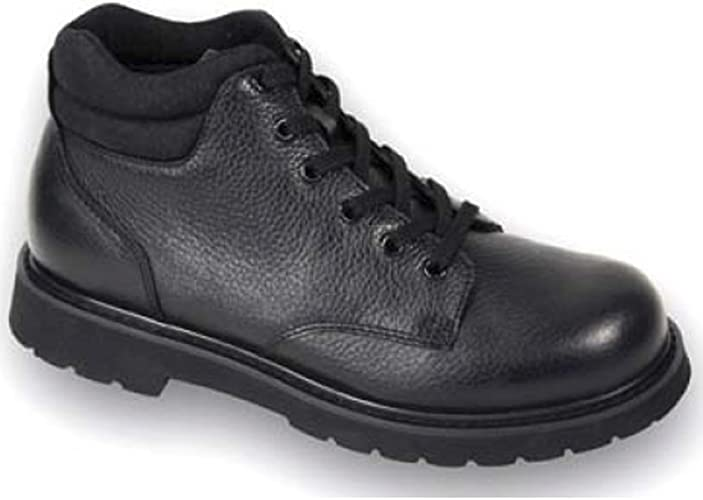 Apis Mt Emey 9501 Mens Therapeutic Extra Depth Shoe Leather Lace