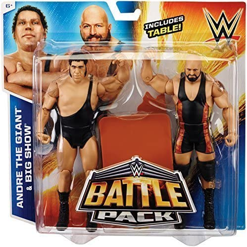 ANDRE THE GIANT & BIG SHOW - WWE BATTLE PACKS 33 WWE TOY WRESTLING ACTION FIGURE 2-PACKS by Wrestling: Amazon.es: Juguetes y juegos