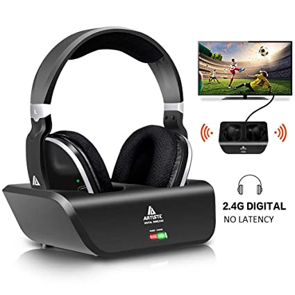 Amazon.com: Wireless Headphones for TV with RF Transmitter for