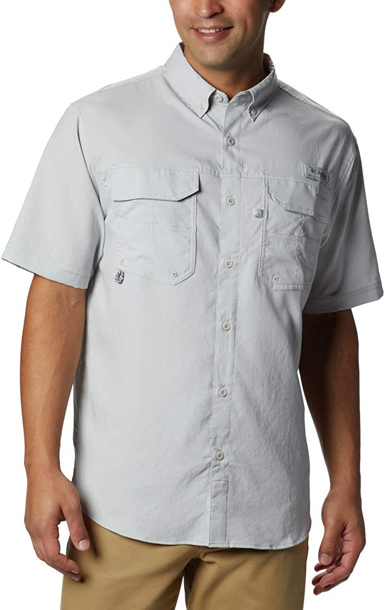 Columbia Men's Extended Blood and Guts III Short Sleeve Woven