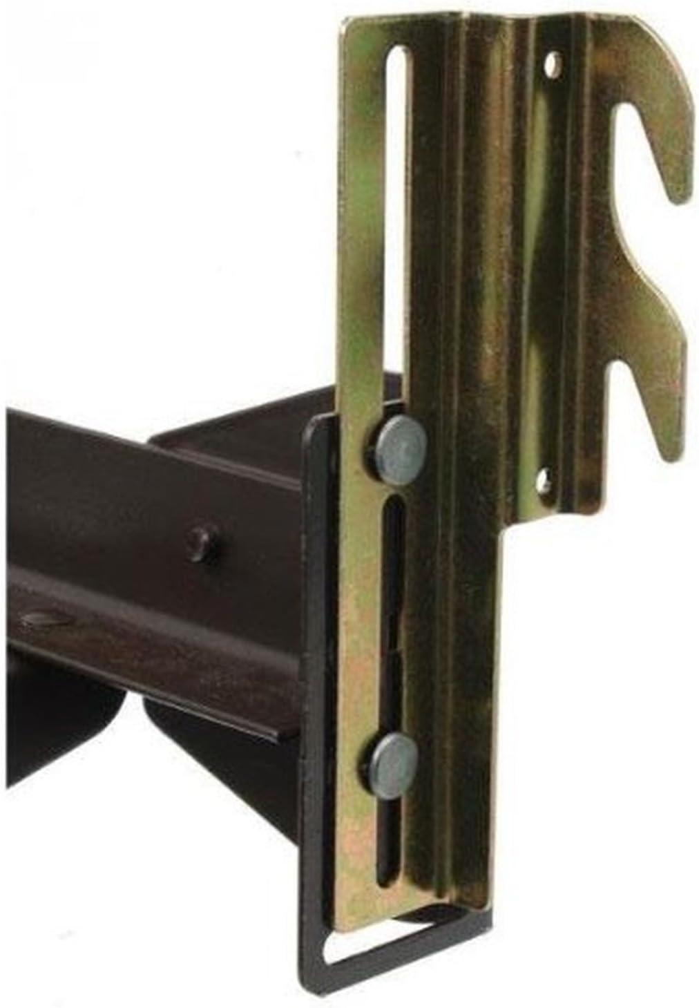 #711 Bolt-auf zu Hook-auf Bett Frame Conversion Brackets mit Hardware Hook Plate