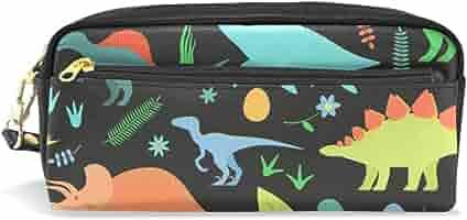 Estuche para lápices de gran capacidad, con diseño de dinosaurio, resistente al agua, para estudiantes o mujeres: Amazon.es: Oficina y papelería