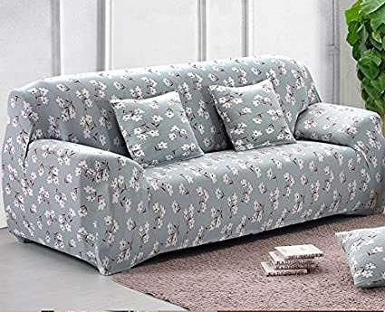 Imported And Floral Design 4 Seater Elastic Sofa Cover Sofa Slipcover Sofa  Cover Four Seater