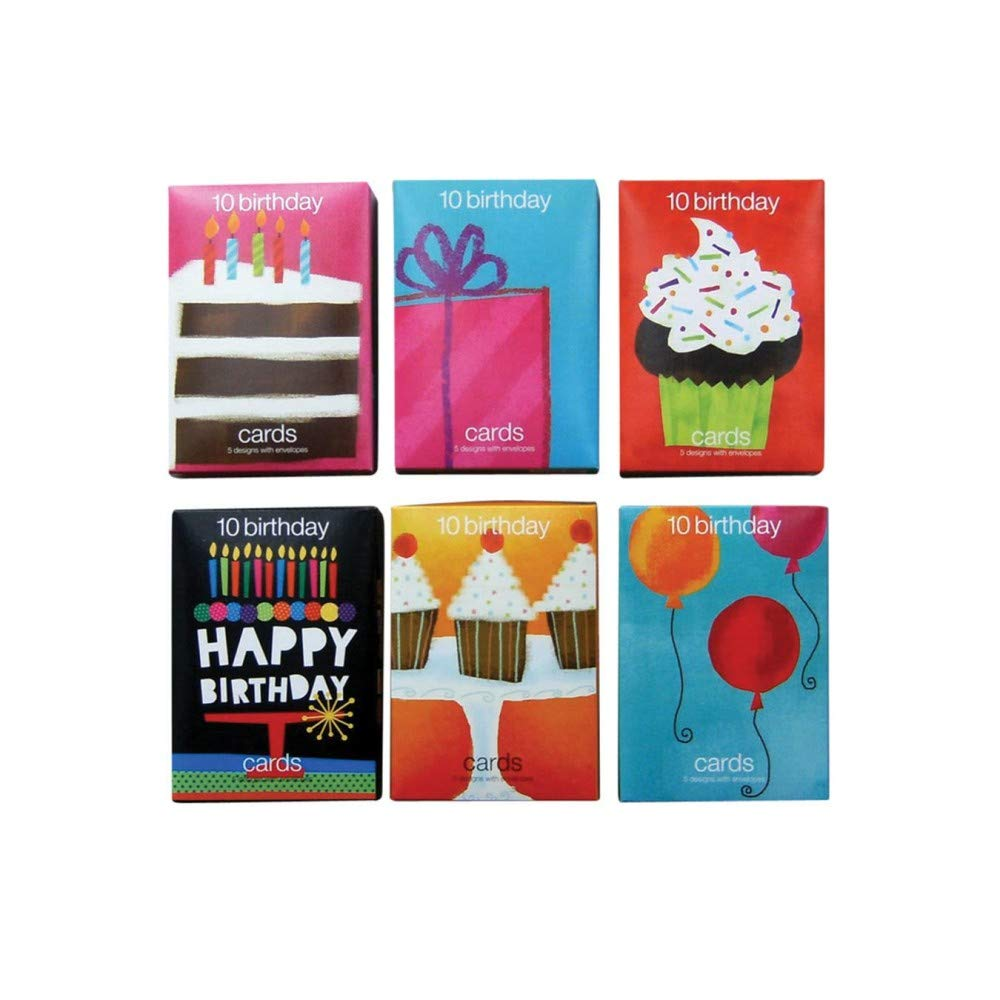 Value Birthday Greeting Cards (12 boxes of 10 cards)